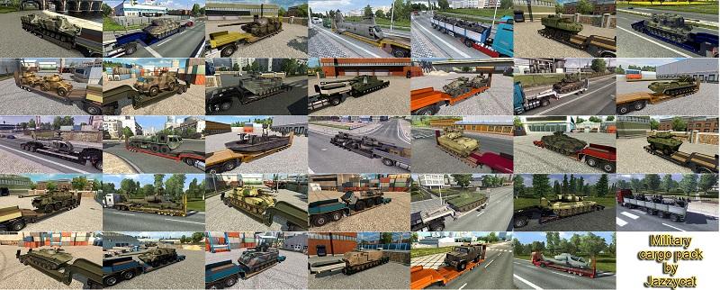 Military Cargo Pack v2.5