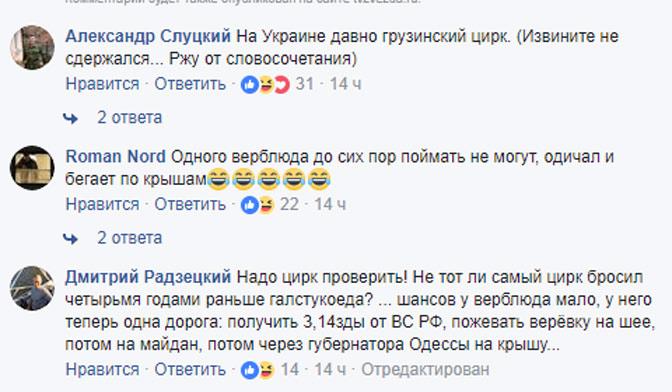 Цирк-шапито бросил верблюда погибать вТернопольской области