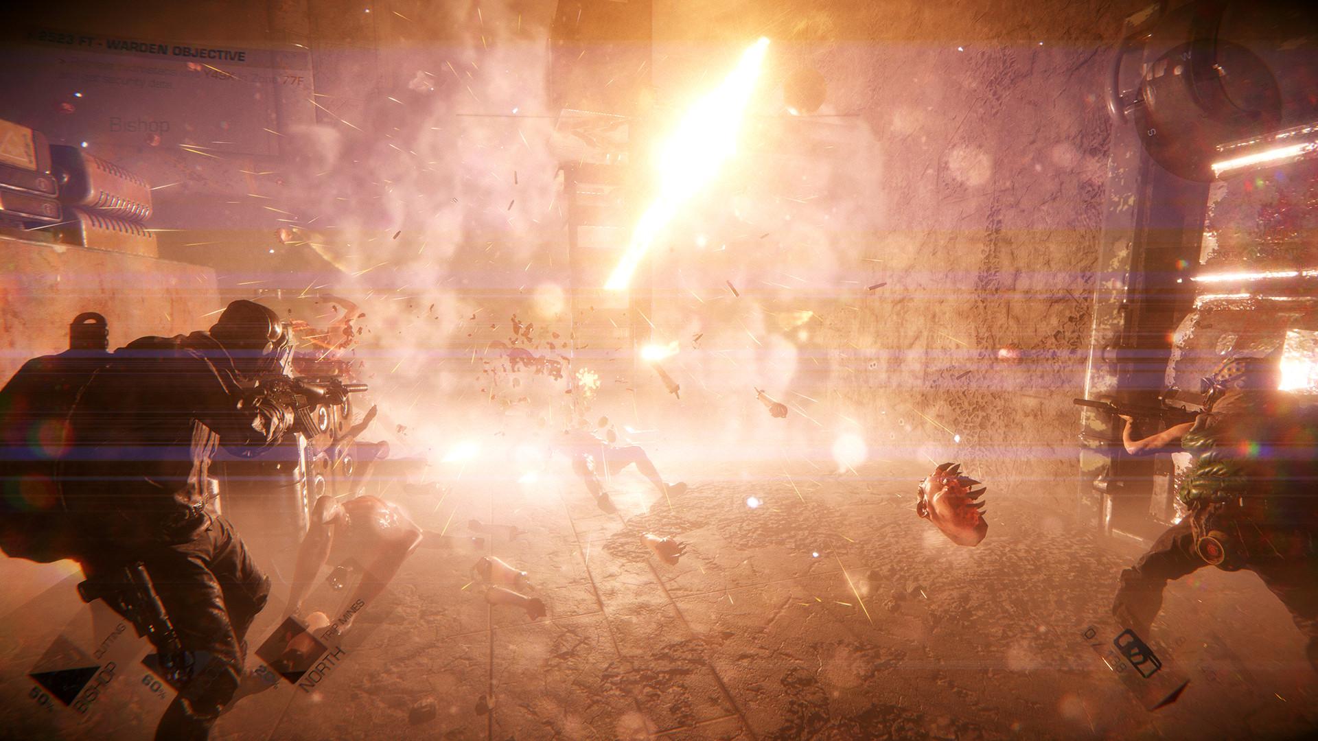 Разработчики GTFO показали врагов, которые заставят игроков остерегаться теней