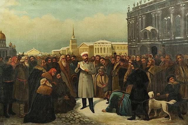 the emancipation of the serfs in russia in 1861