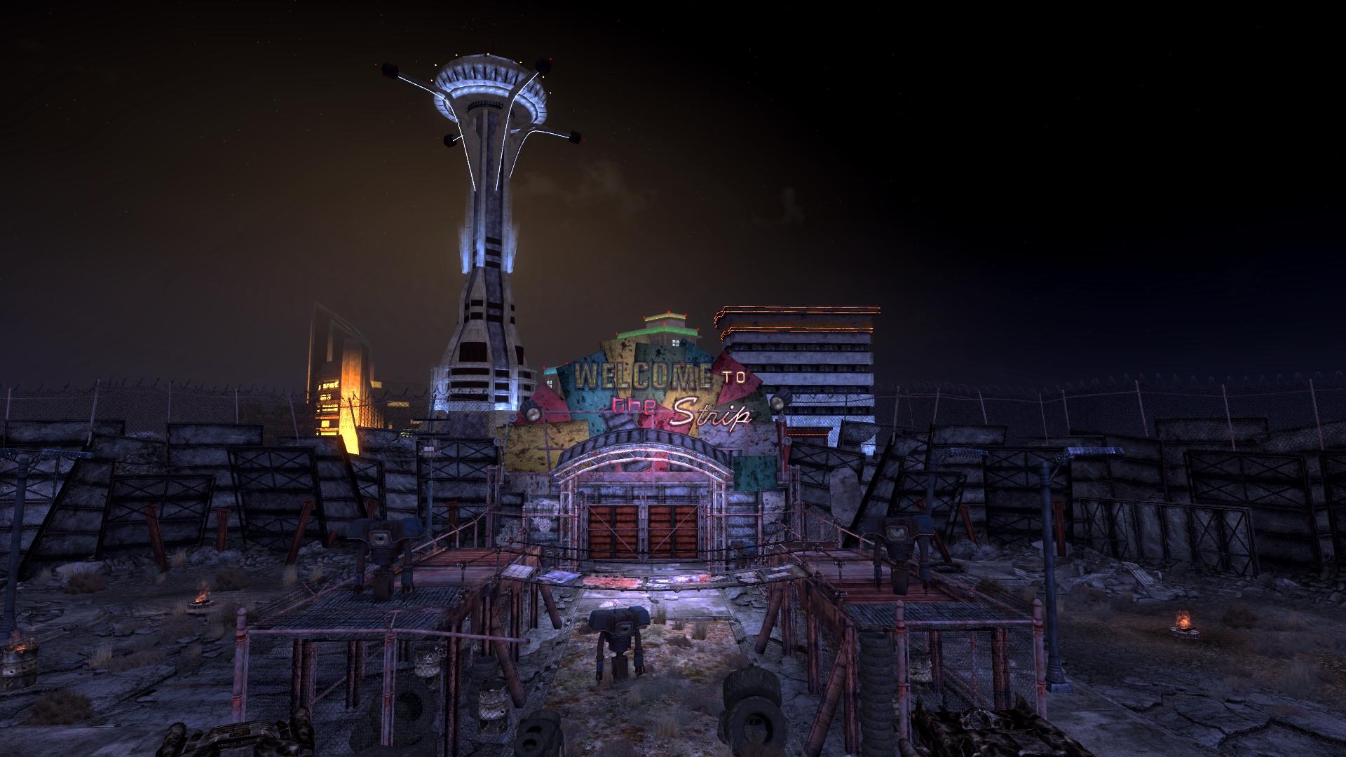 Красивые скриншоты мода Fallout 4: New Vegas