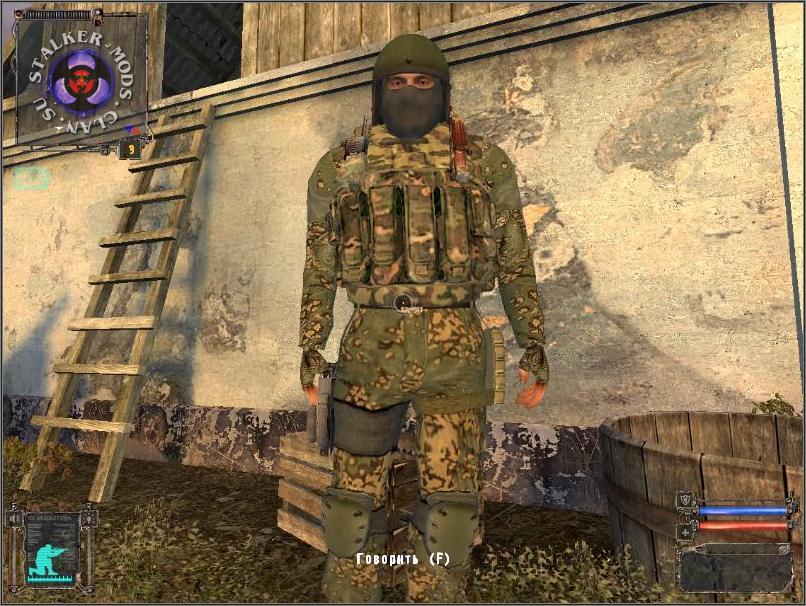 3д модель военного для игры сталкер