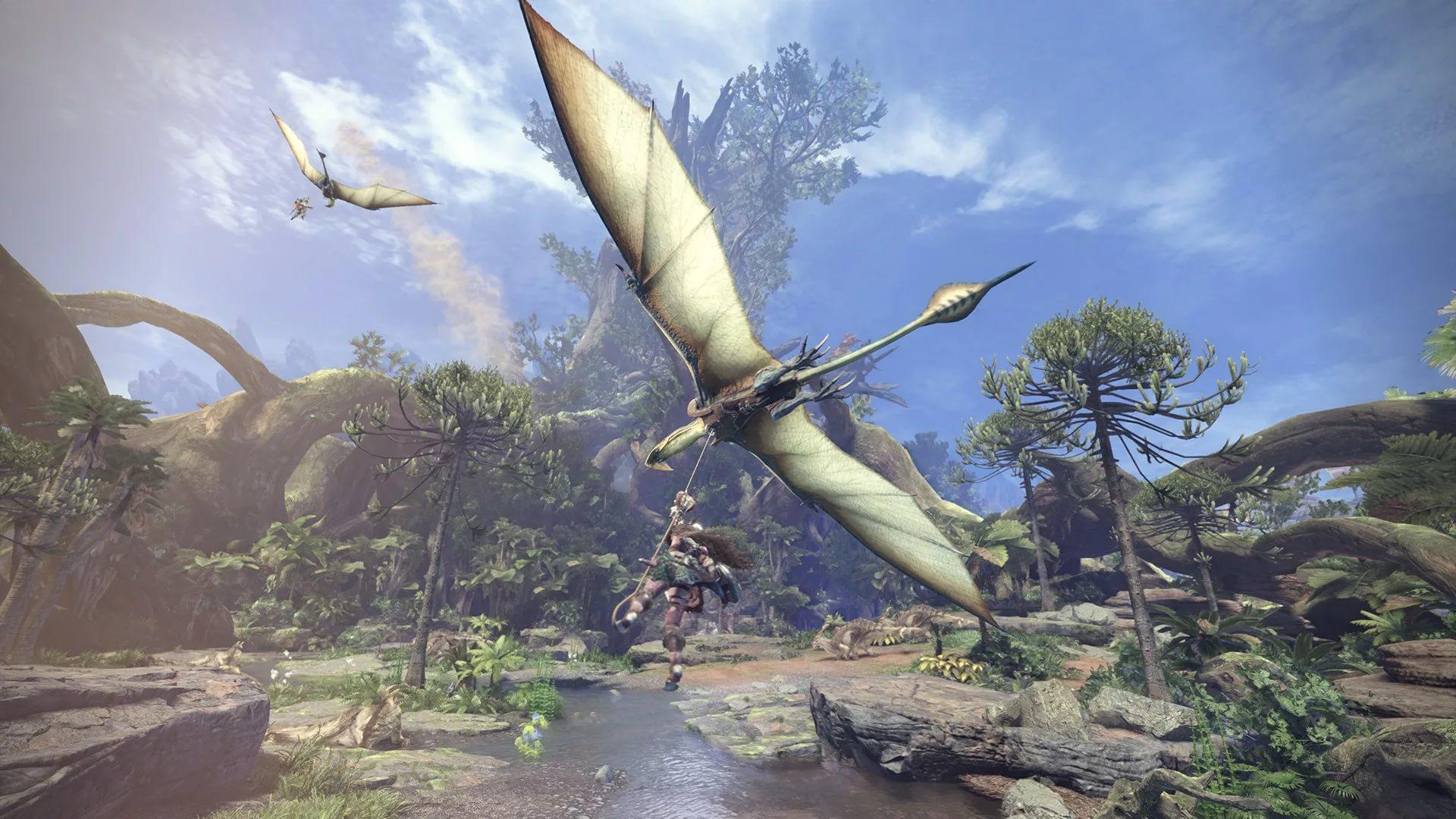 В новых трейлерах Monster Hunter World показали красоты игрового мира