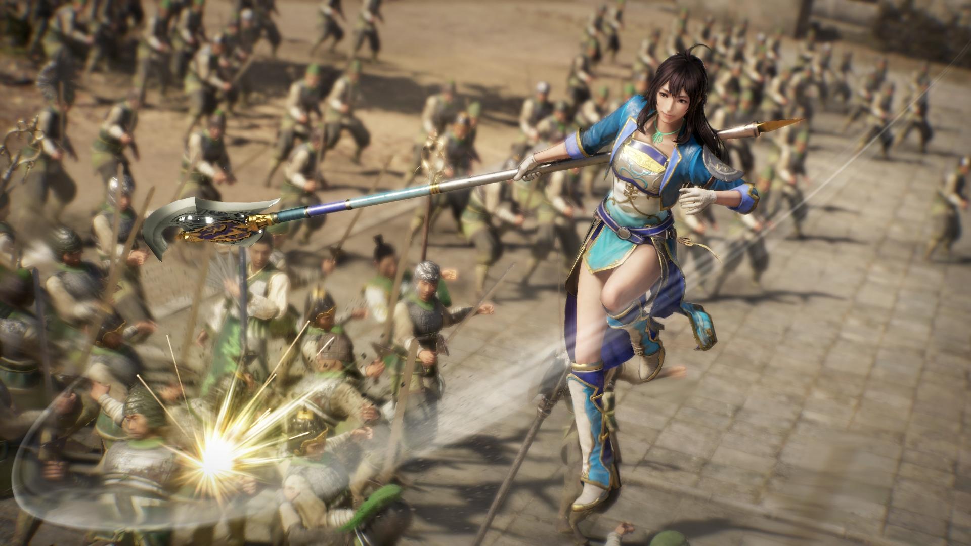 В новых видеороликах Dynasty Warriors 9 показали геймплей за нескольких персонажей
