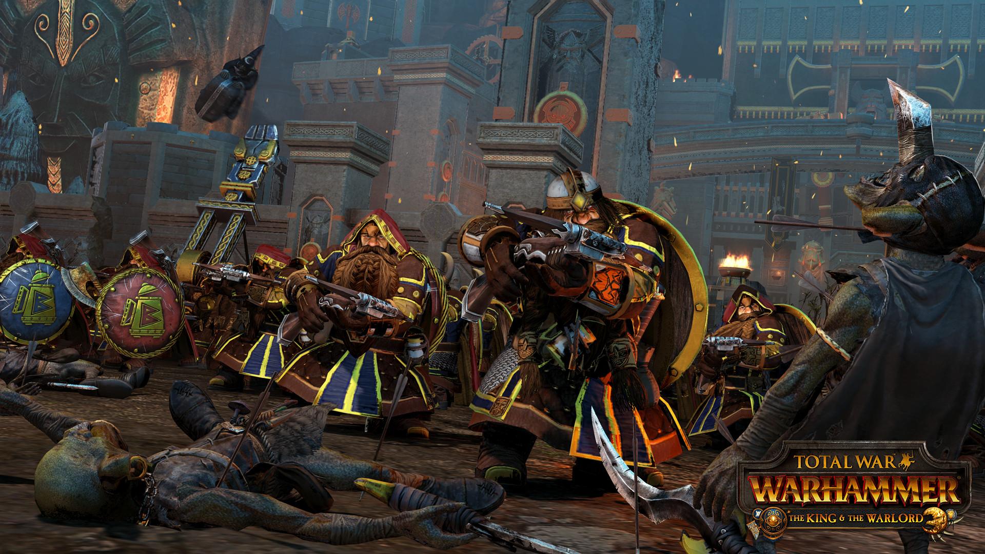 DLC Rise of the Tomb King для Total War: Warhammer 2 получило дату выхода