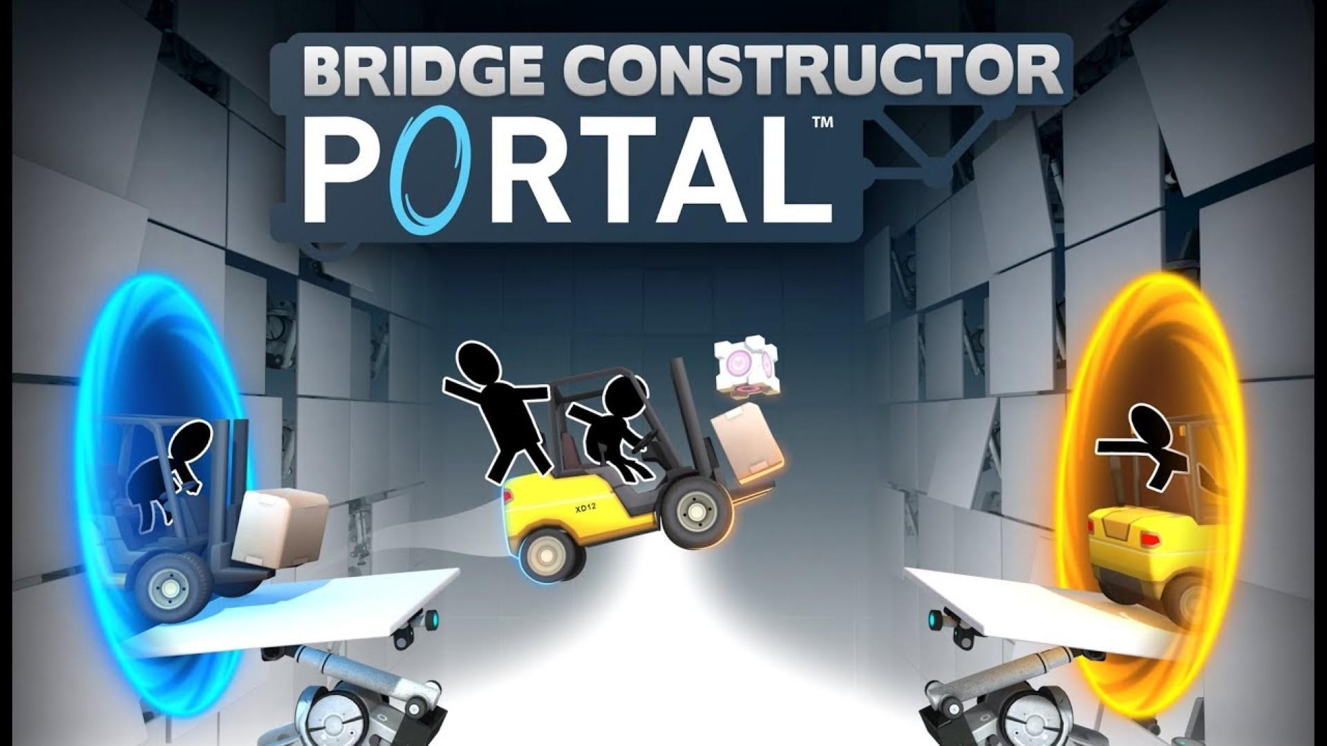 Состоялся релиз Bridge Constructor Portal. Представлен новый геймплейный трейлер