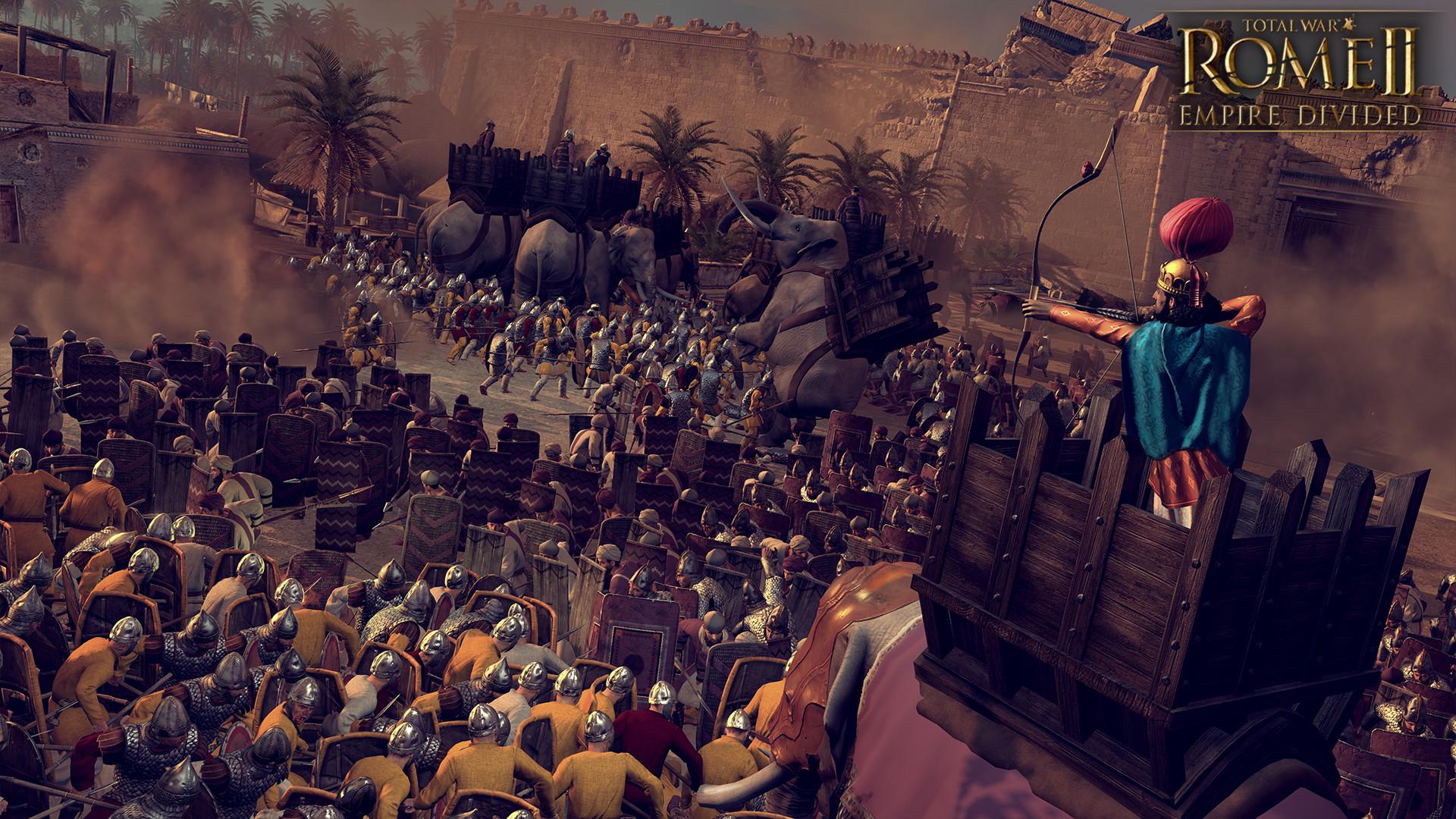 Обзор Total War: ROME II — Empire Divided — возвращение в Рим