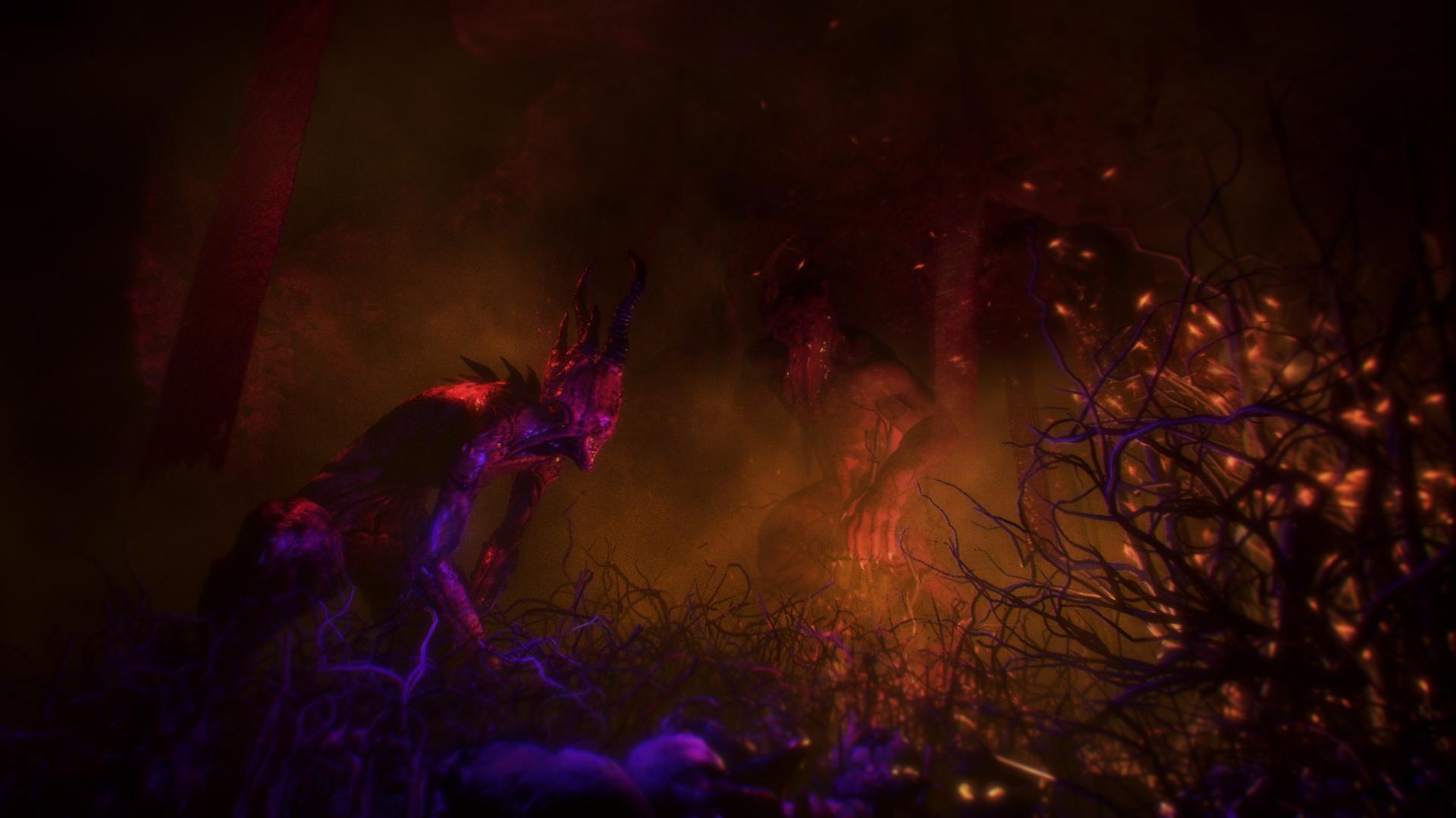 В новом трейлере хоррора Agony показали Красную Богиню