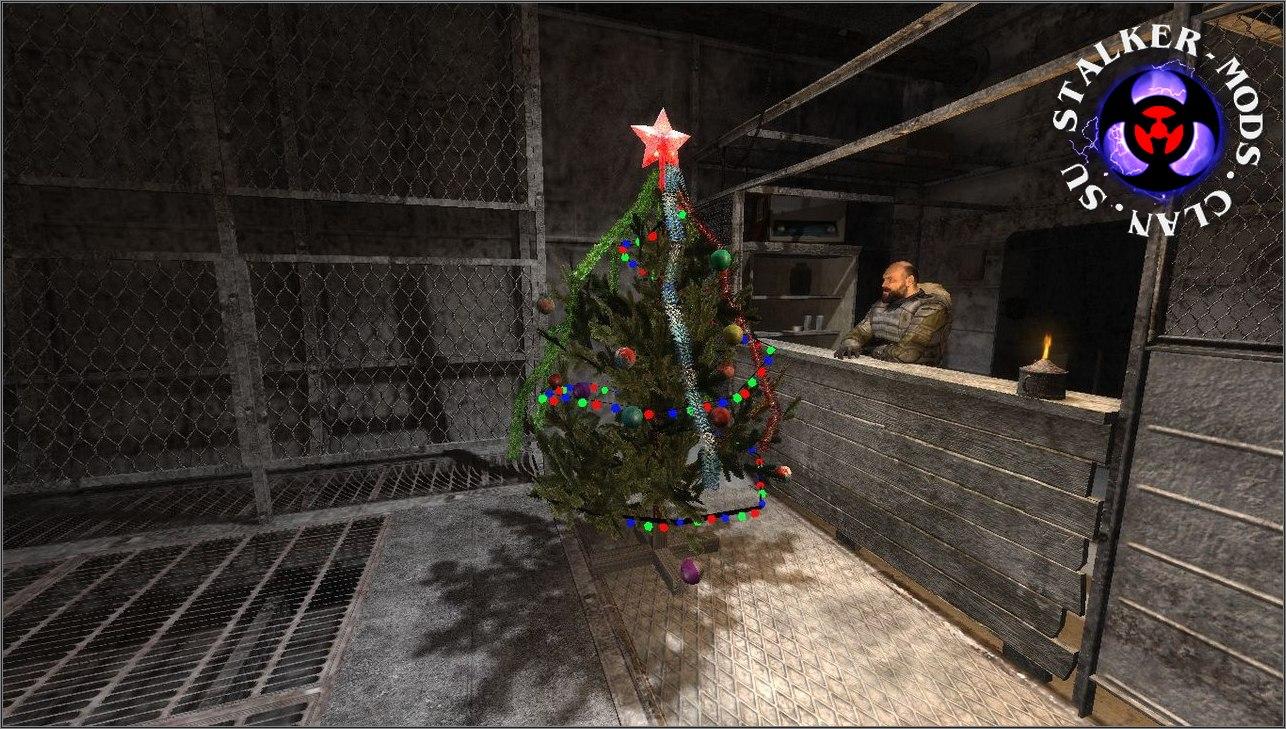 3д модель елки для игры сталкер