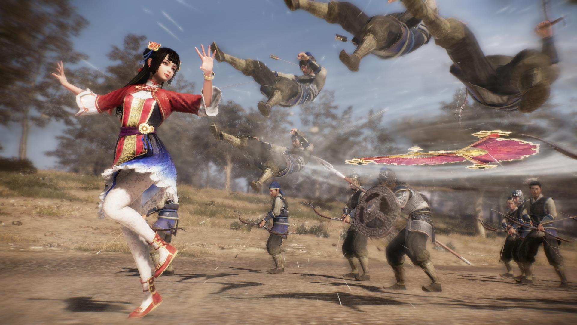 Опубликованы новые геймплейные видеоролики Dynasty Warriors 9 с демонстрацией сражений
