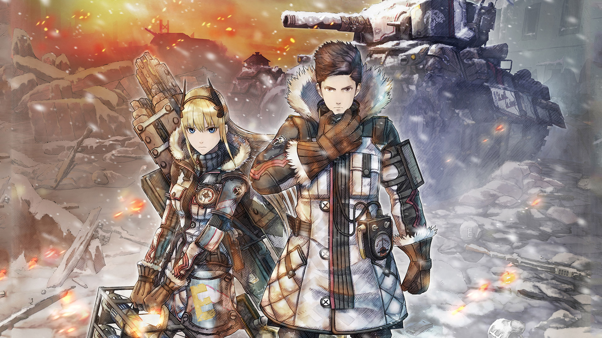 Первый геймплей Valkyria Chronicles 4