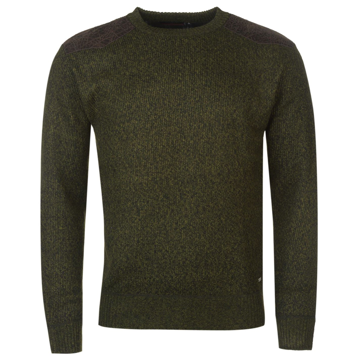 Bonded Crew Knitted Jumper