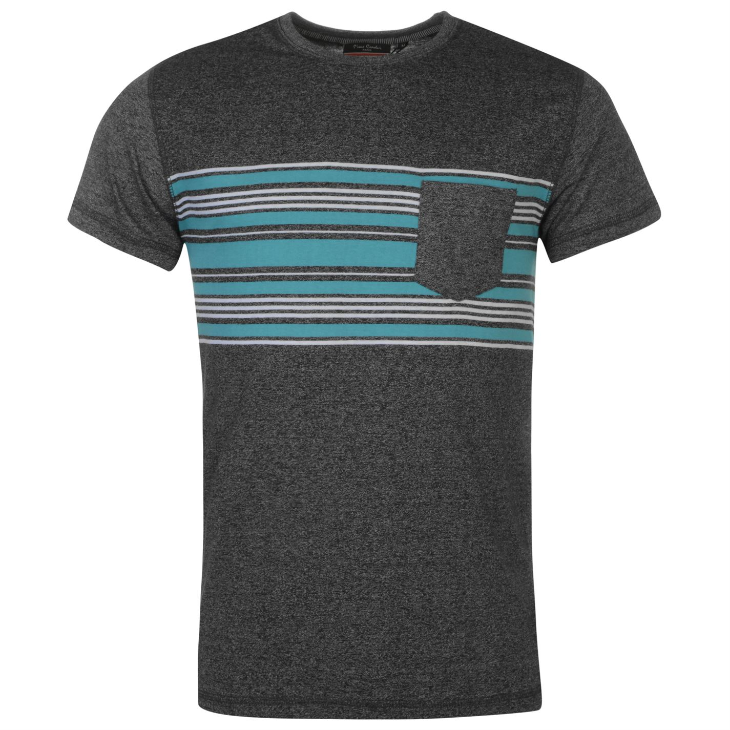 Striped Pocket T Shirt
