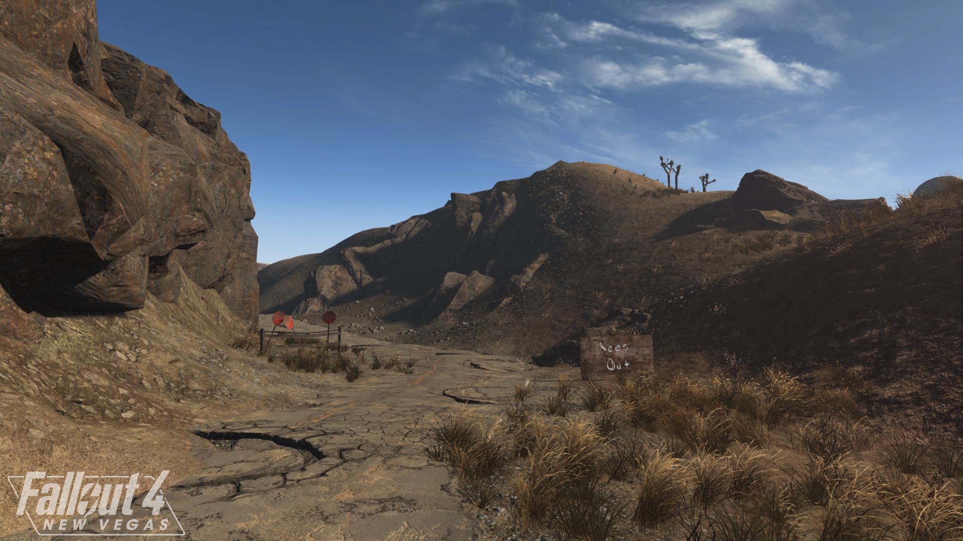 Разработка мода New Vegas для Fallout 4 продолжается