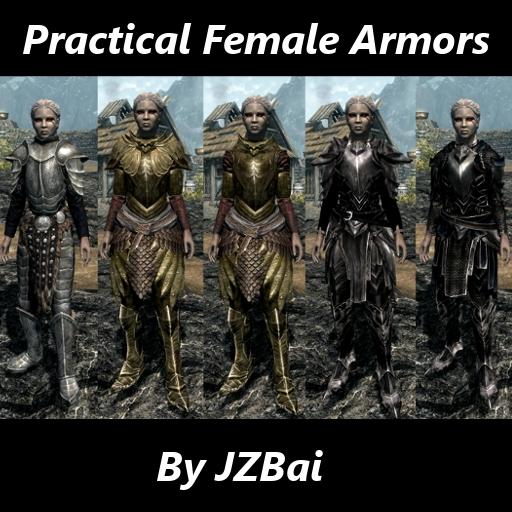 Практичная женская броня