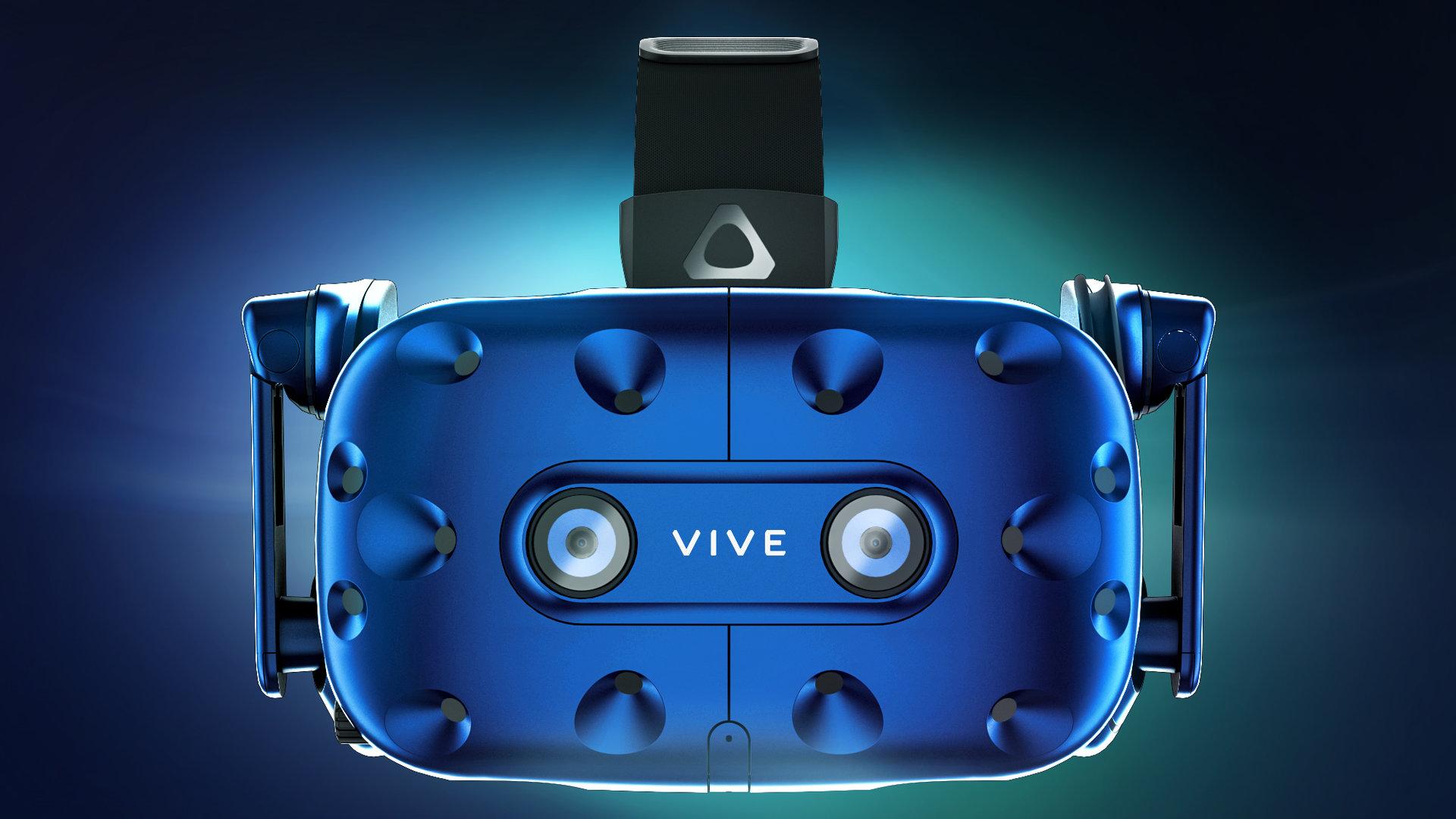CES 2018: HTC представила новую VR гарнитуру Vive Pro
