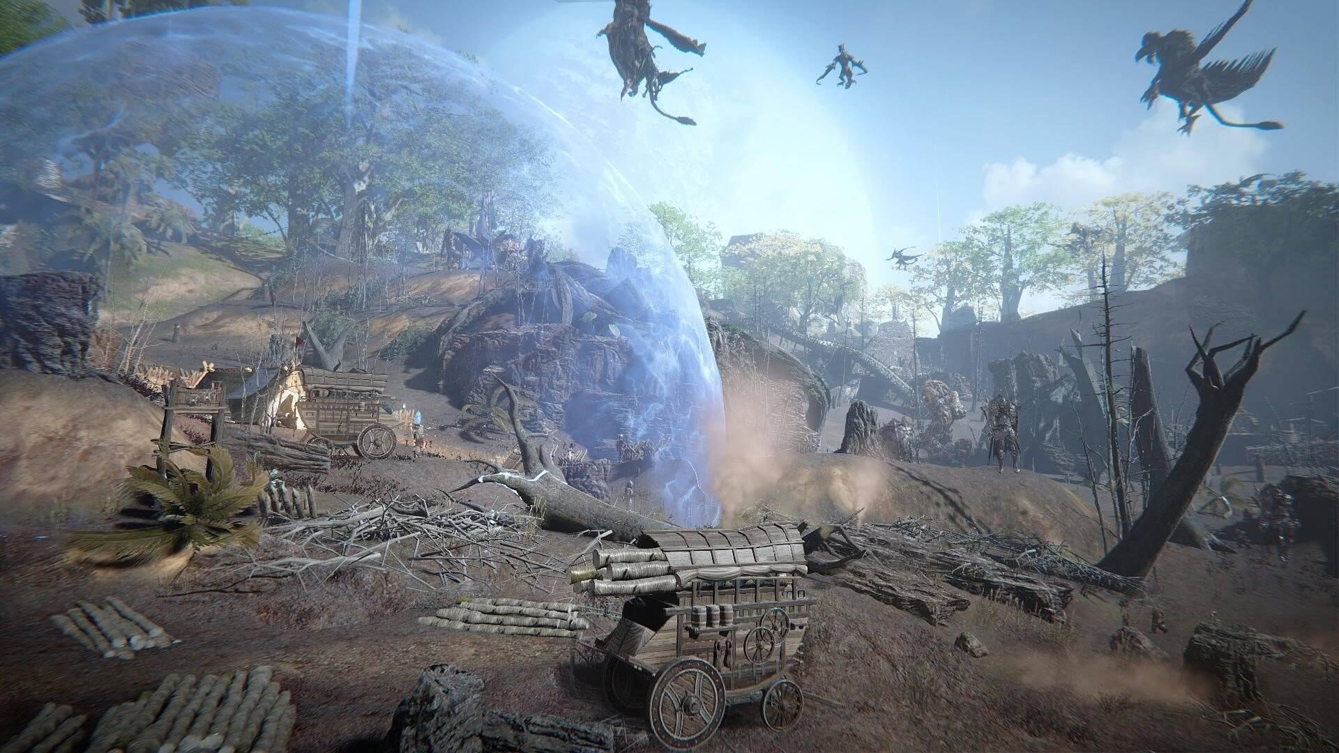 Вступительный синематик новой MMORPG Ascent: Infinite Realm