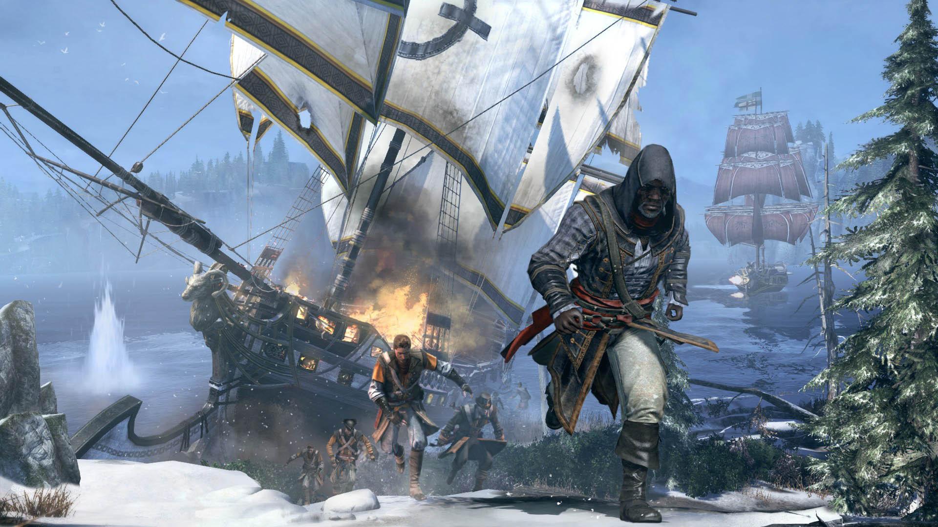Ремастер Assassin's Creed: Rogue выйдет в марте