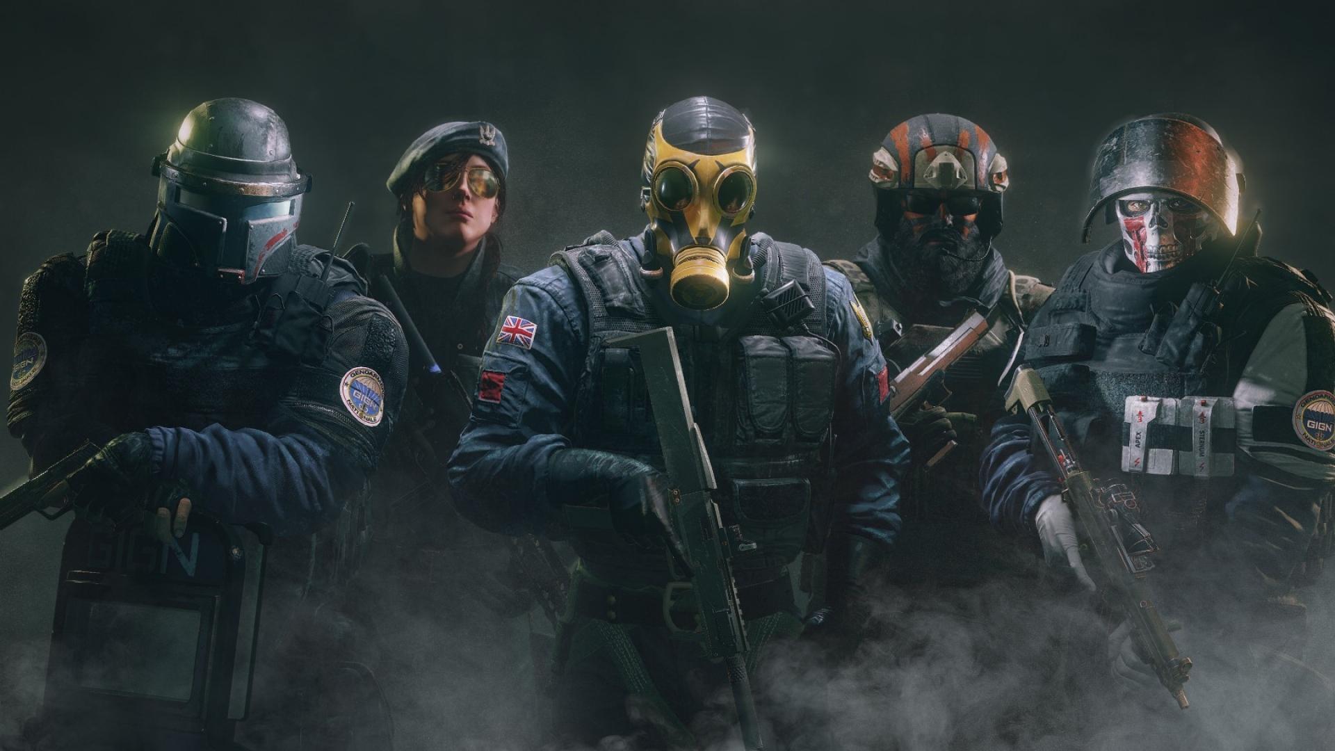 Инфографика: Ubisoft показала, от чего умирают в Rainbow Six Siege