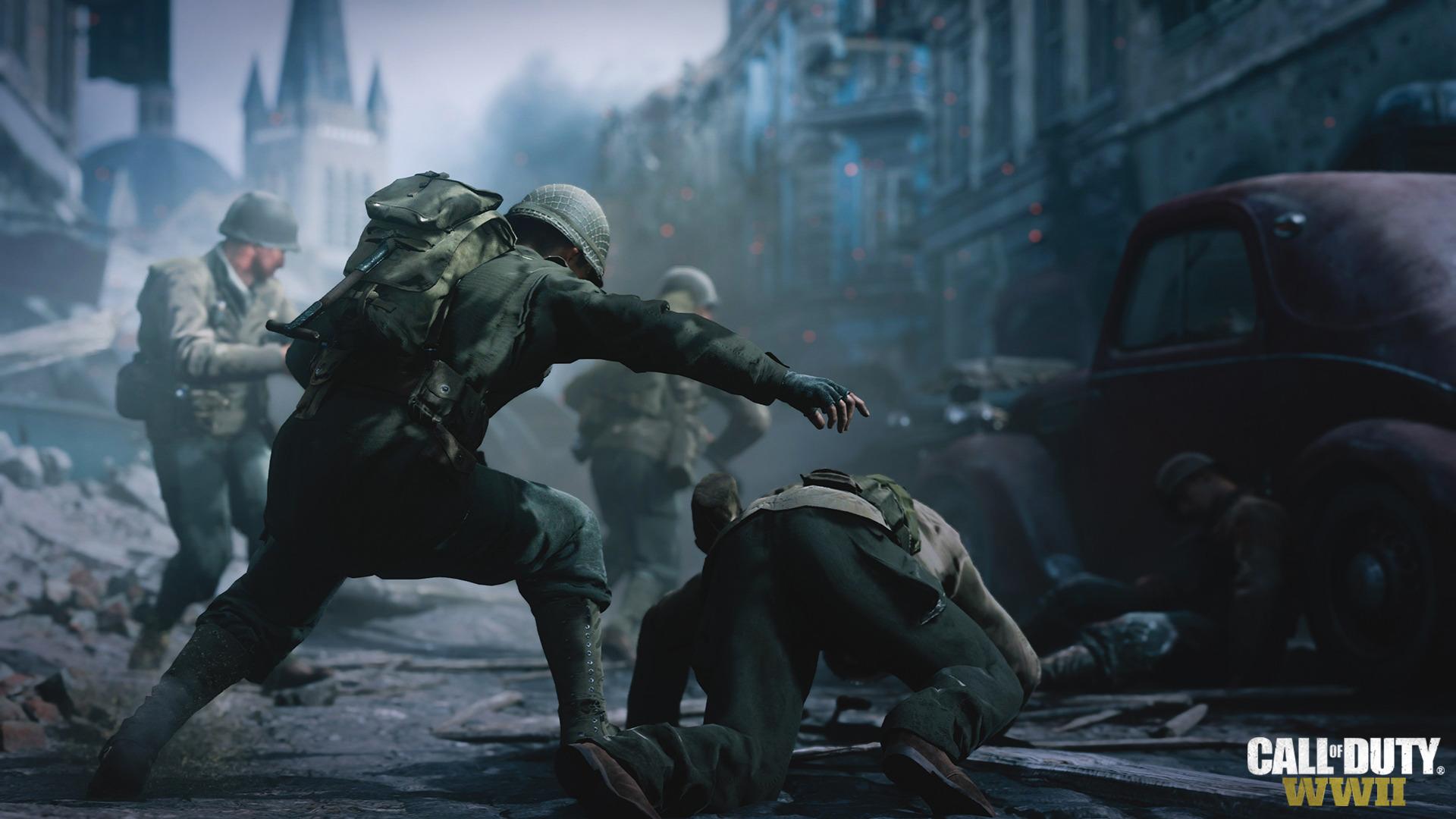 Новый трейлер Call of Duty: WWII вызывал бойцов Сопротивления на бой