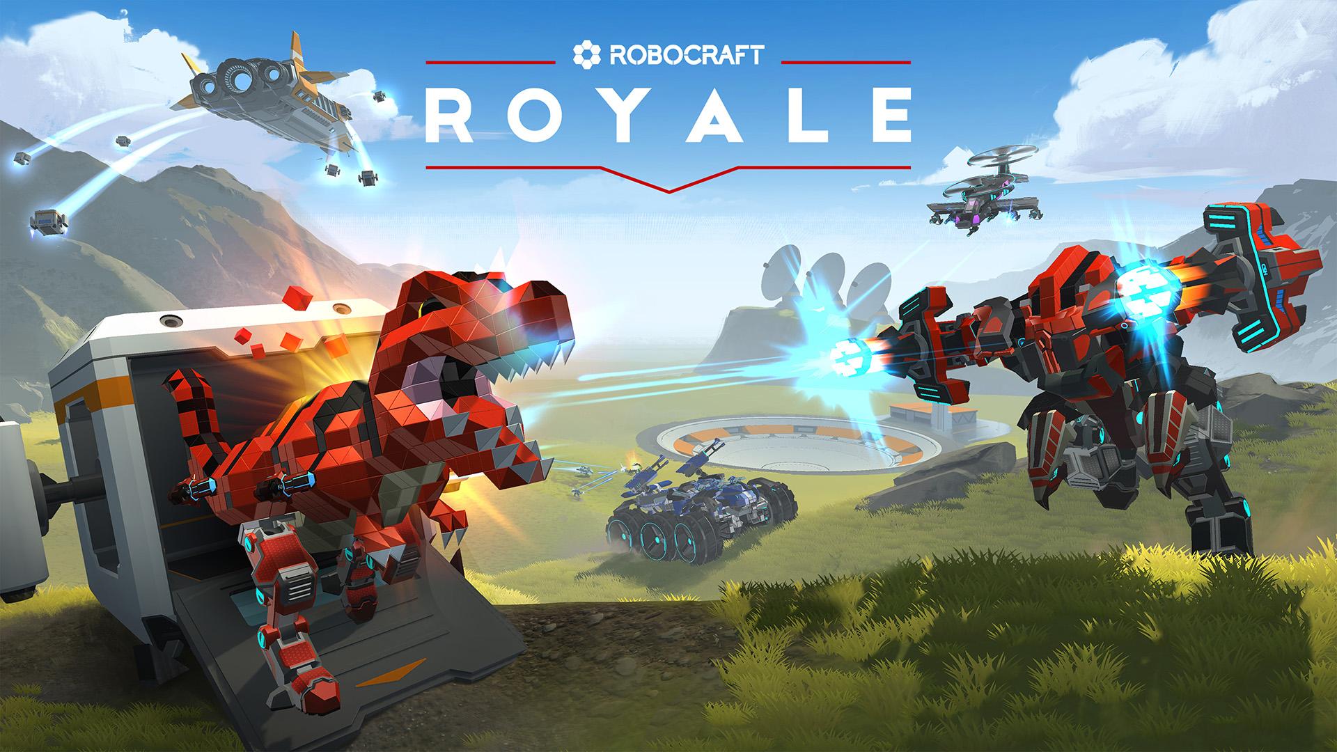 Анонсирована Robocraft Royale — игра в жанре королевской битвы с функцией создания роботов