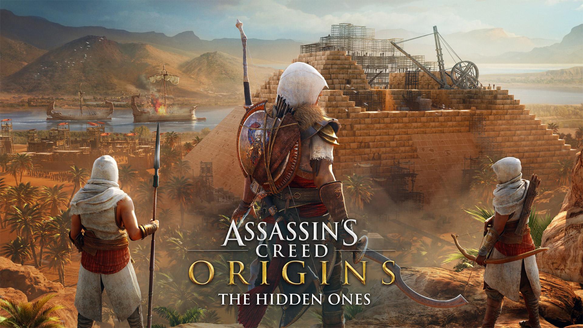 Появился трейлер к выходу Assassin's Creed: Origins — The Hidden Ones