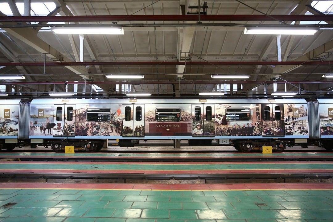 Новый тематический поезд запущен на «серой» ветке метро   Изображение 1