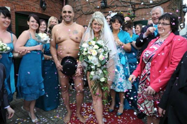 Невесту отодрали на свадьбу