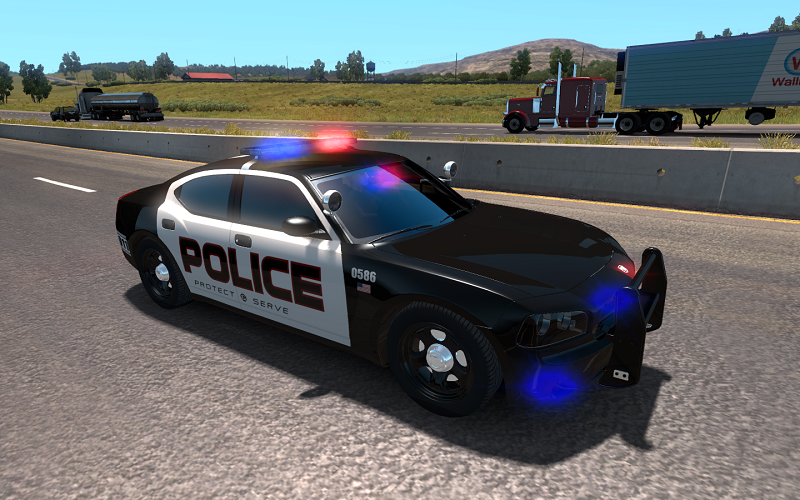 USA Police traffic [1.30]
