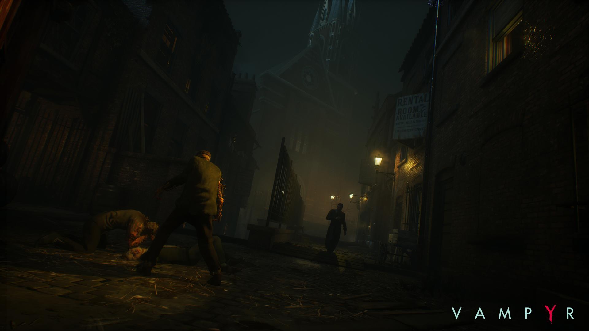 Во втором эпизоде мини-сериала Vampyr разработчики рассказали о создании локаций и музыки