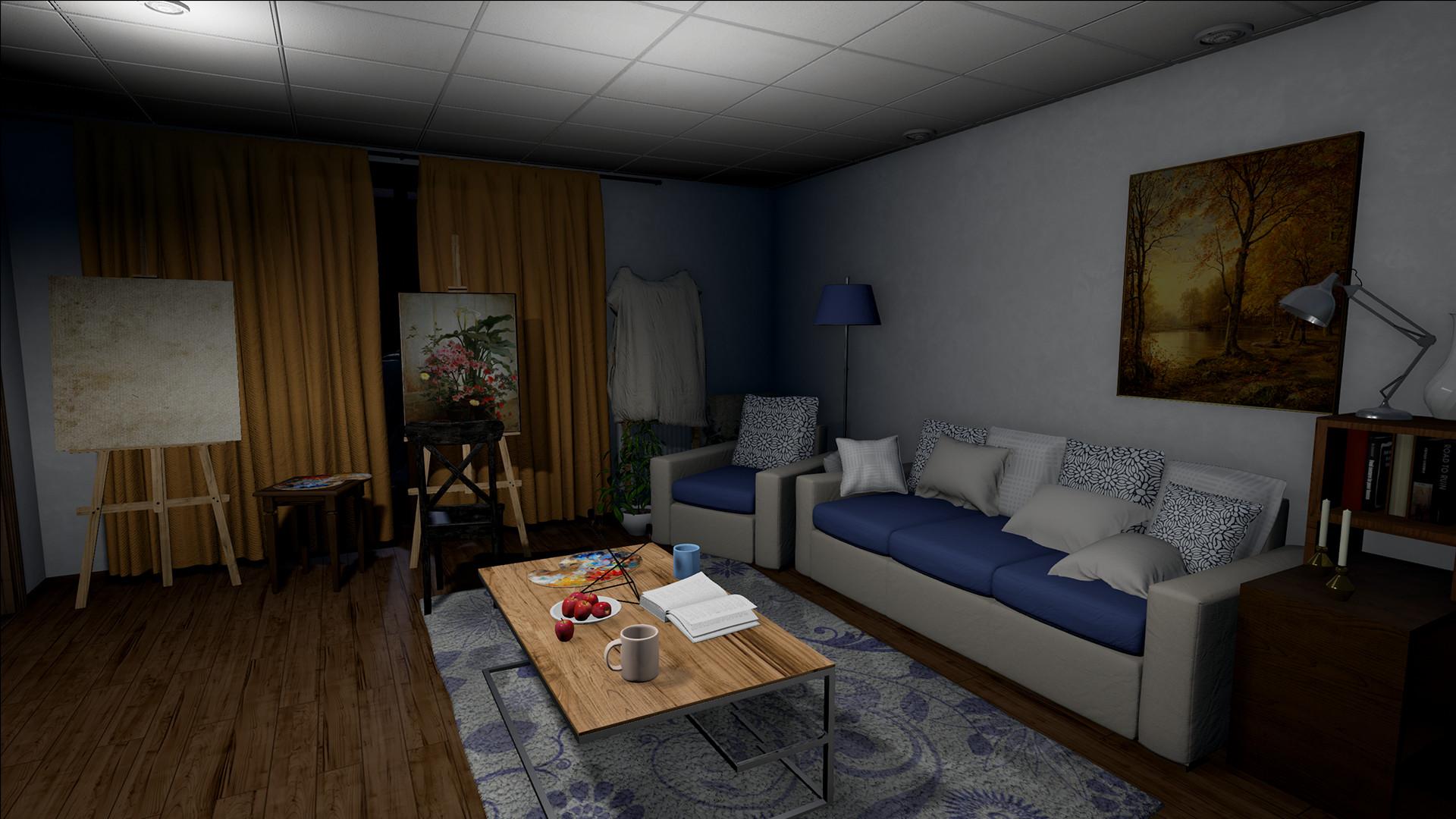 Опубликовано 13 минут геймплея The Apartment — психологического хоррора-головоломки