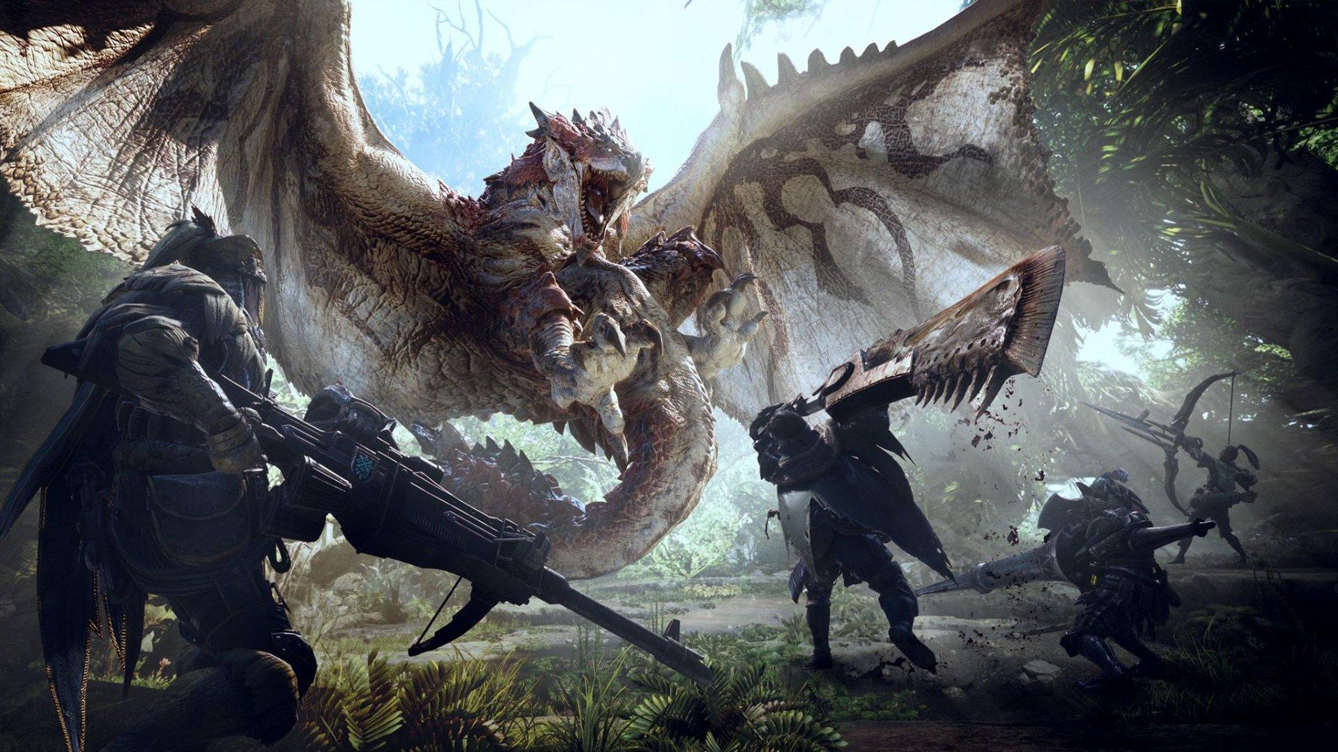 Коллекционное издание Monster Hunter World за 8000 рублей распаковали на видео