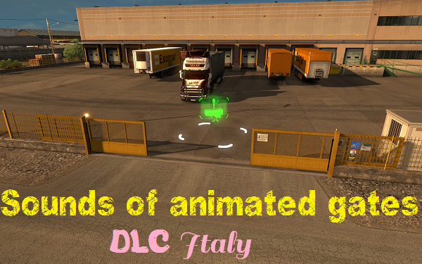 Sounds of animated gates for Italy