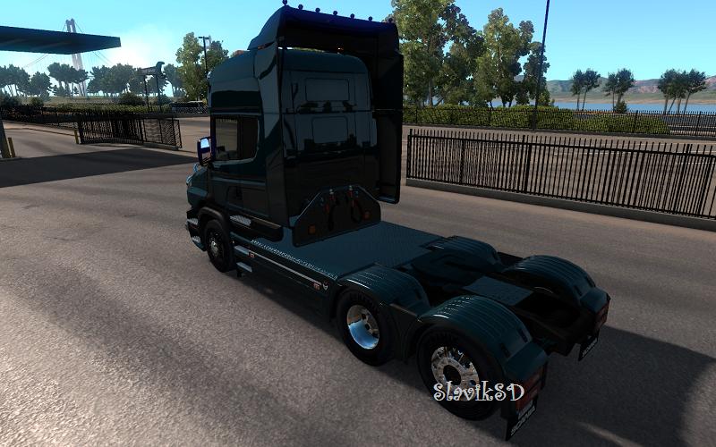 Scania T Mod v2.2.2 by RJL [ATS]