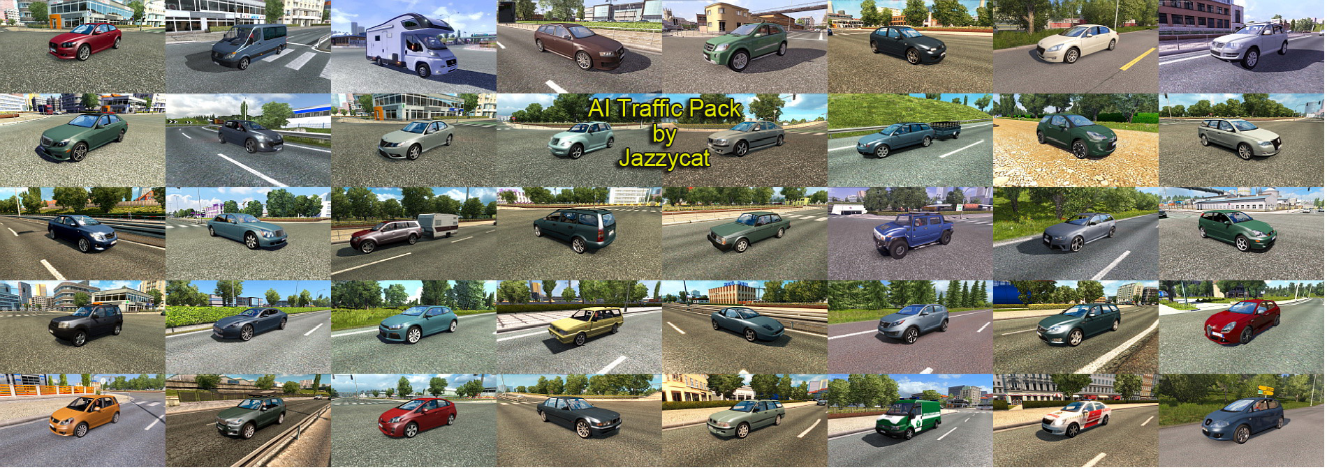 AI Traffic Pack v7.4 by Jazzycat
