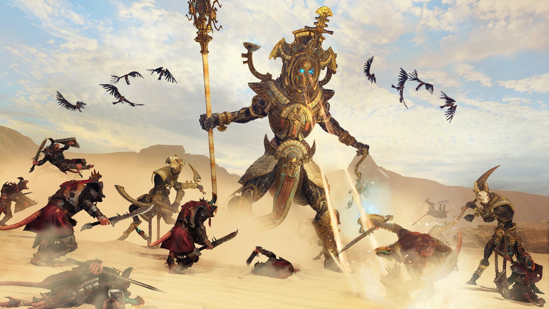 Обзор Total War: Warhammer 2 — Rise of the Tomb Kings — когда мертвым тоже хочется славы