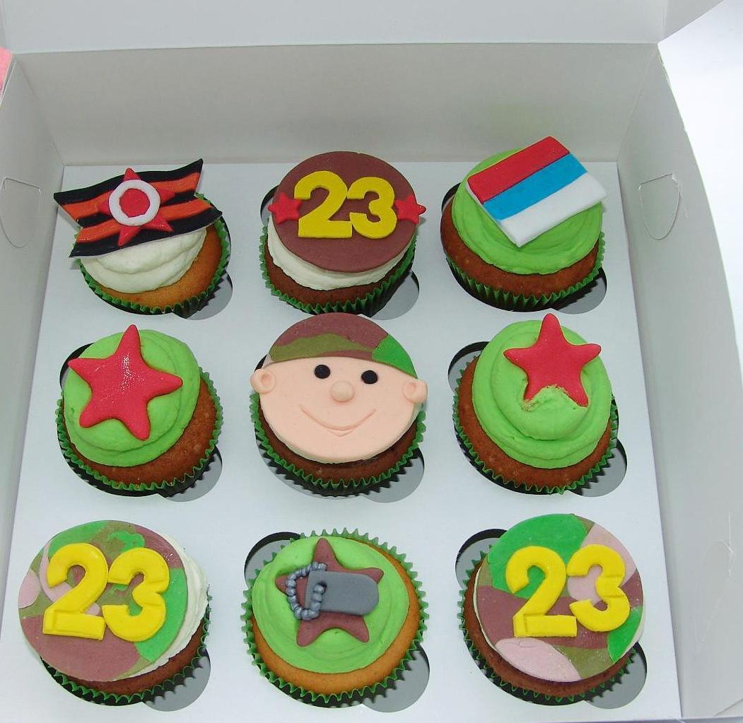 ❶Украшение капкейков на 23 февраля|Праздничные открытки с 23 февраля|52 Best Капкейки images | Chocolate Cupcakes, Bakken, Bedroom||}