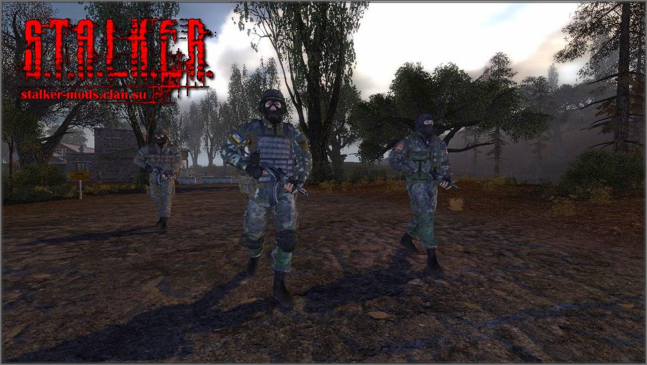 HD pack НПС для S.T.A.L.K.E.R. ТЧ