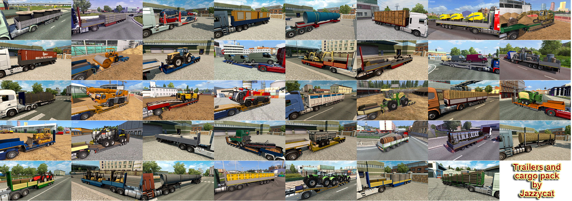 Trailers and Cargo Pack v6.9