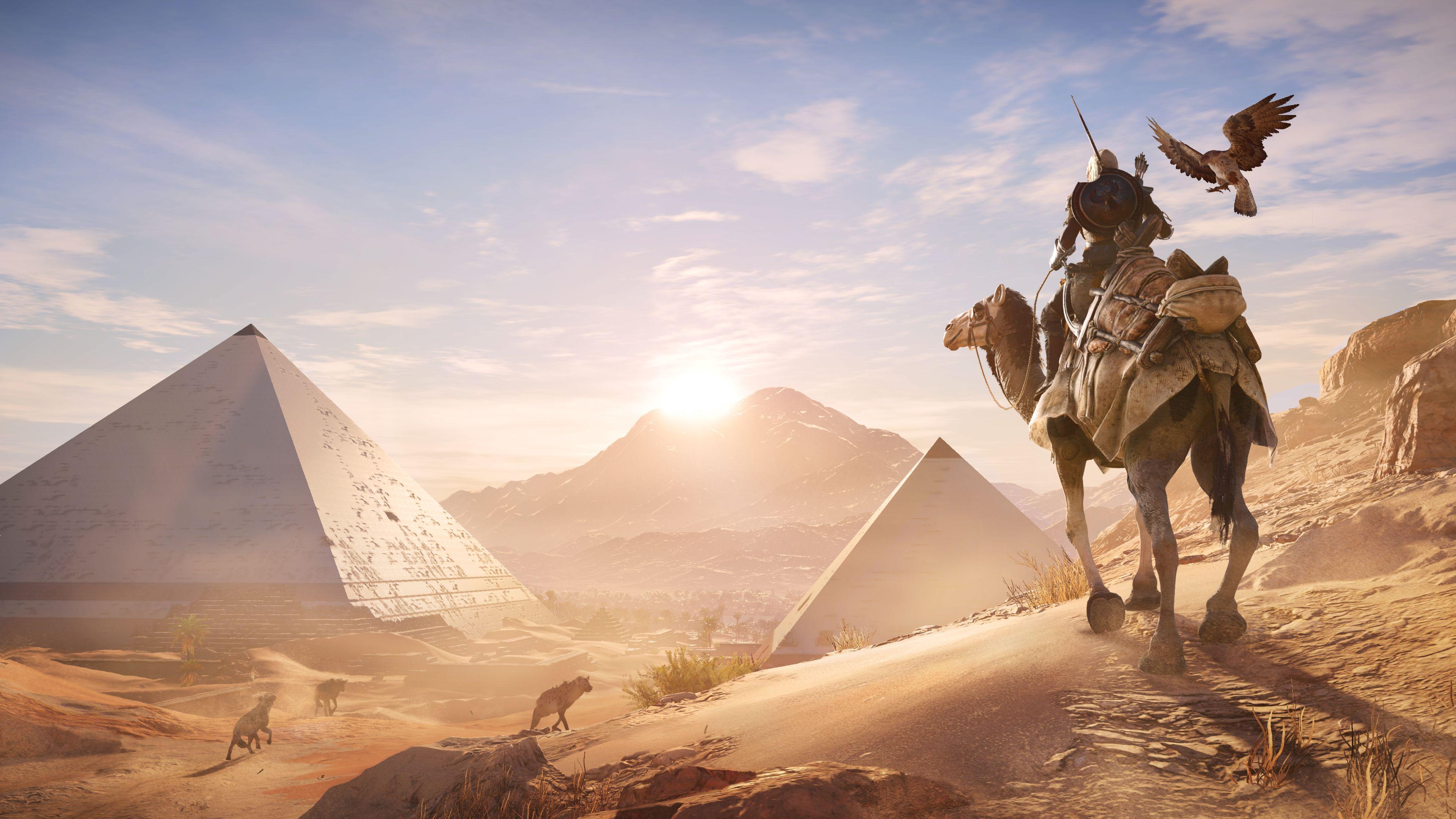 В Assassin's Creed: Origins добавили броню восточных династий