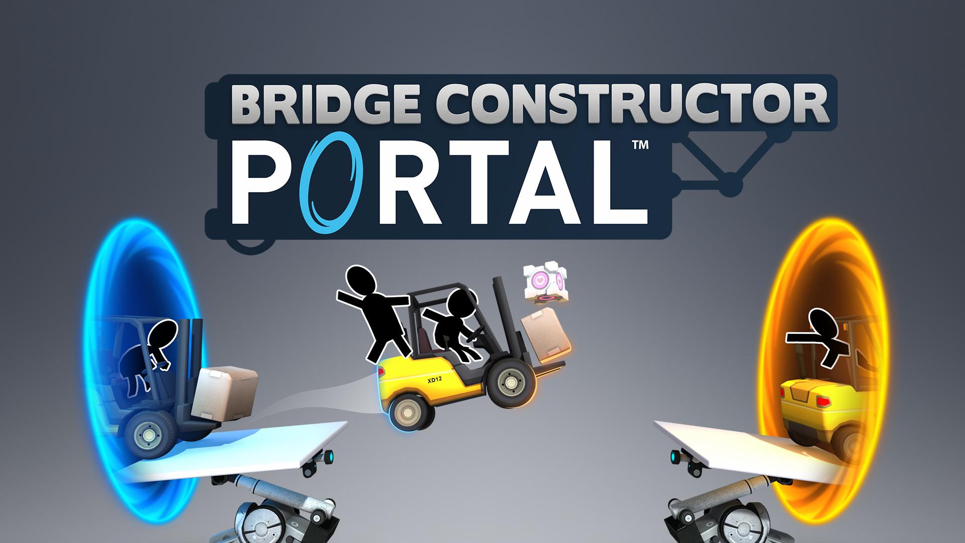 Обзор Bridge Constructor Portal — добротный кроссовер с богатым наполнением