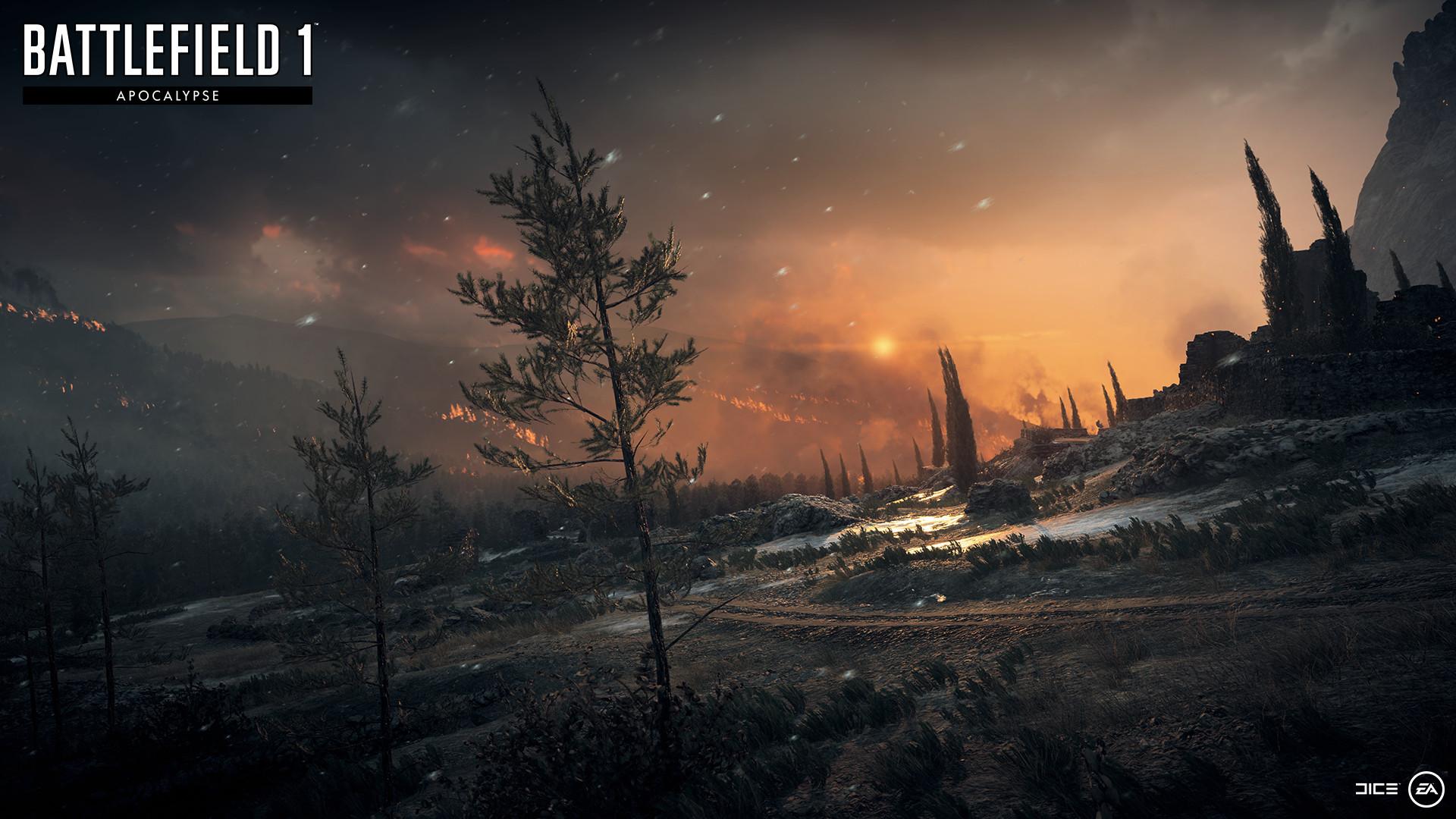 На новых скриншотах Battlefield 1: Apocalypse показали потрясающую графику