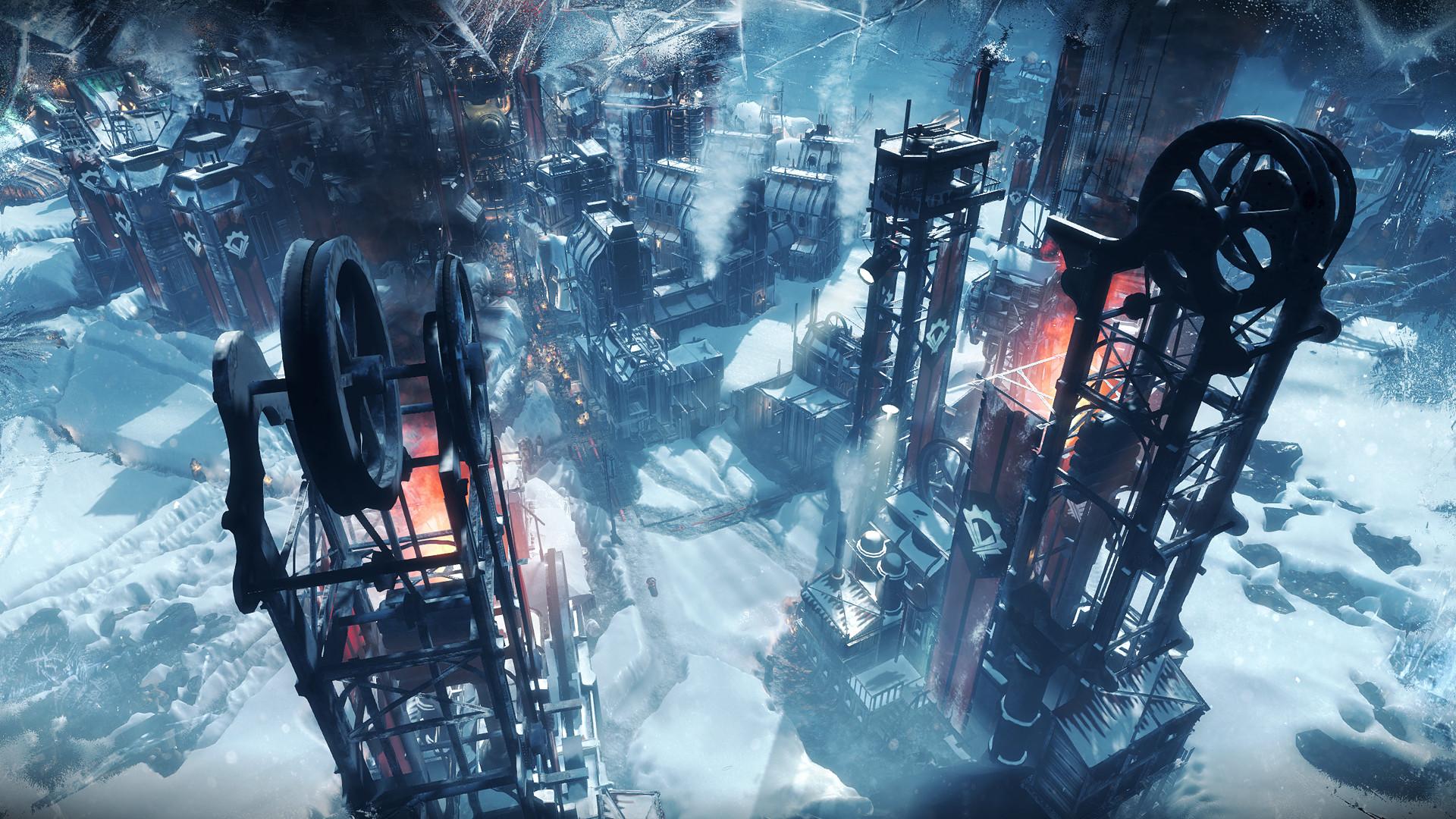 Опубликованы скриншоты, обложка и видеодневник разработчиков Frostpunk