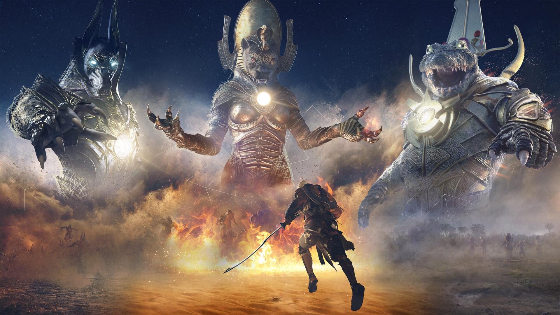 Ubisoft раскрыла план обновлений для Assassin's Creed: Origins в марте