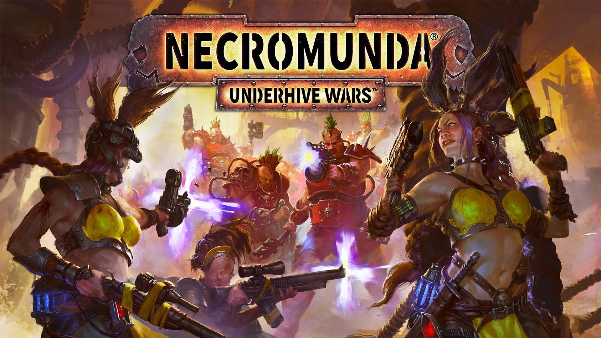 Познакомьтесь с мрачным миром Necromunda: Underhive Wars в дебютном тизер-трейлере