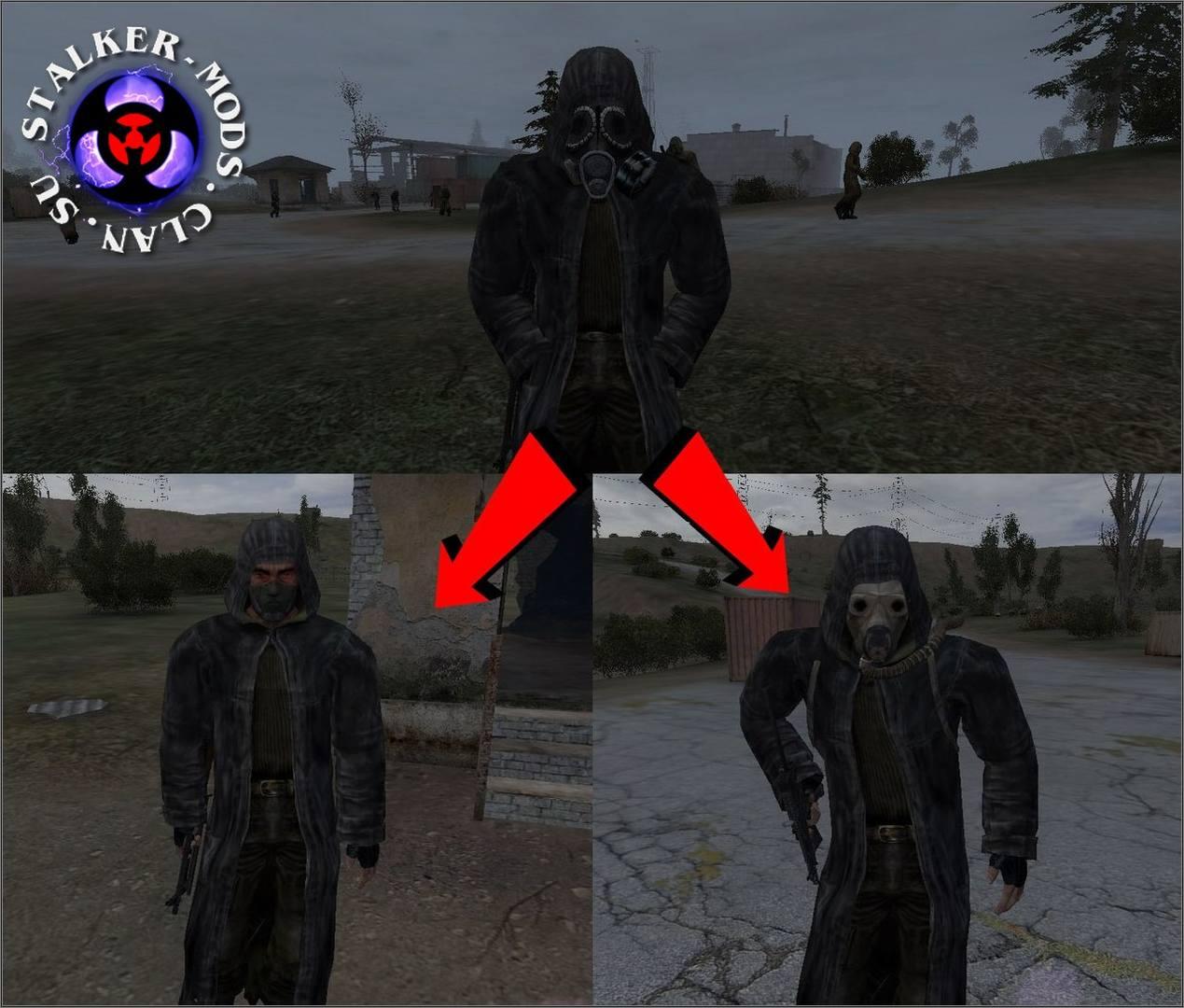 новые модели персонажей