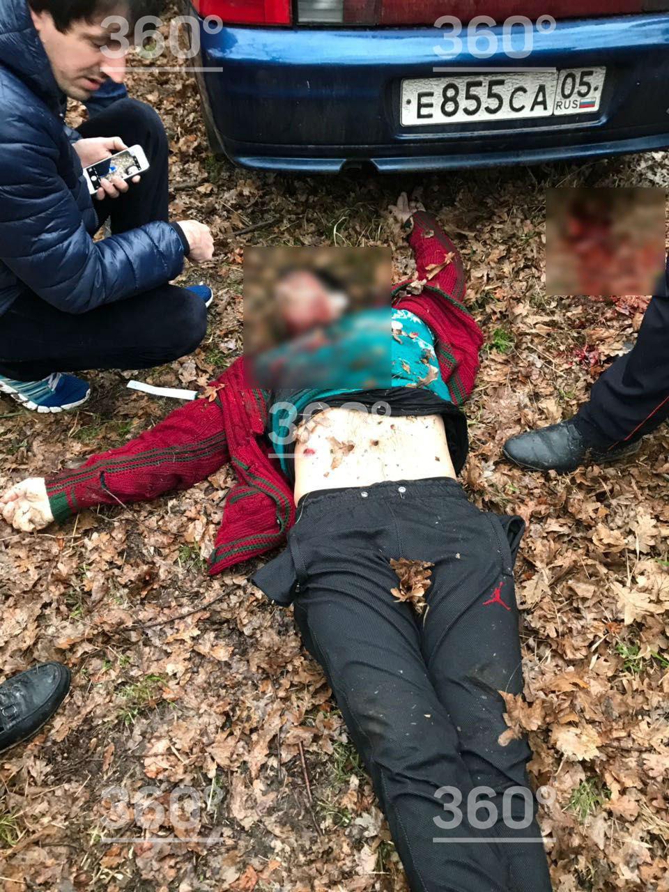 Появились фотографии с места убийства дагестанских силовиков | Изображение 1