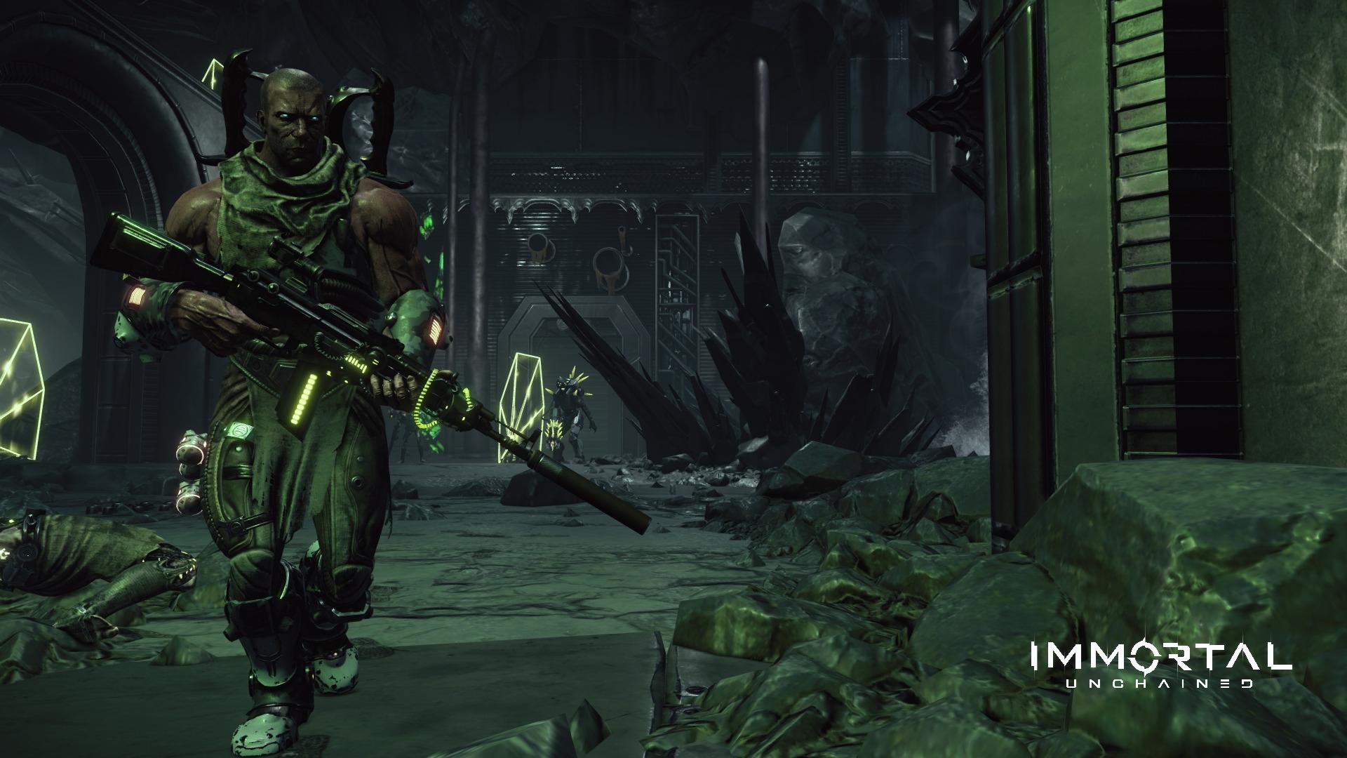 Появился 45 минутный геймплей с закрытого альфа-теста Immortal: Unchained