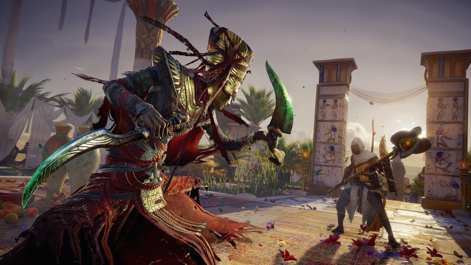 В сети появились новые скриншоты Assassin's Creed Origins — Curse of the Pharaohs DLC