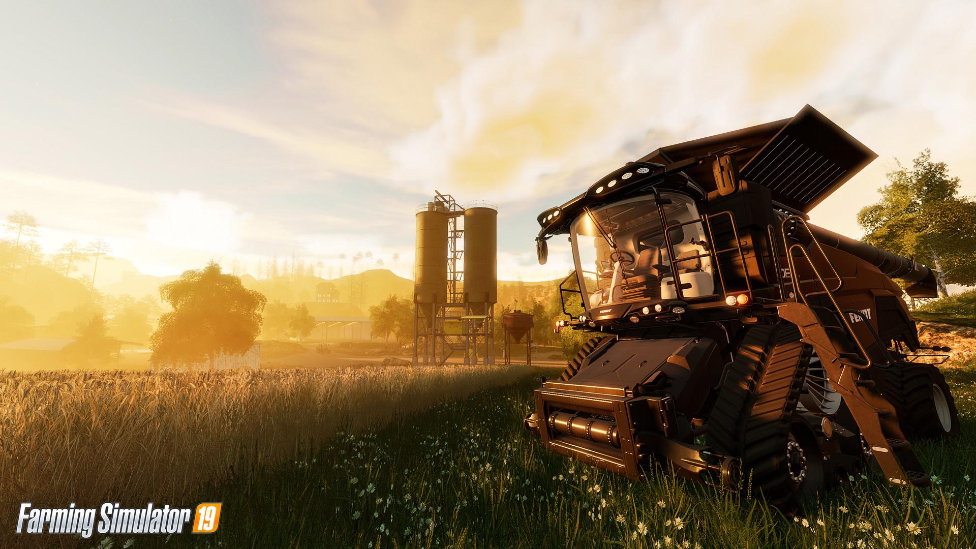 Появился первый скриншот Farming Simulator 19